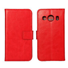 For Samsung Galaxy Ace 4 SM-G357FZ magnetic Leather wallet Cover Case