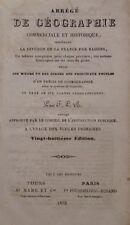 BRANSIET Mathieu - ABREGE DE GEOGRAPHIE COMMERCIALE ET HISTORIQUE - 1853