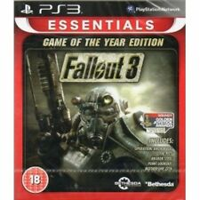 Fallout 3 Game Of The Year Edition (GOTY) Game (Essentials) PS3 Brand New