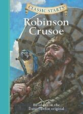 Classic Starts: Robinson Crusoe (Classic Starts Series)-ExLibrary