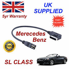 Mercedes Benz SL CLASS MP3 MEMORY Stick USB Cable Media Interface