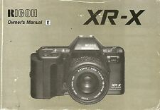 Ricoh XRX Original Instruction Book