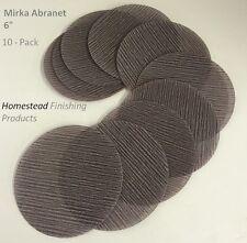 Mirka Abranet 6 inch Hook & Loop Sanding Discs 10-Pack 1000 grit