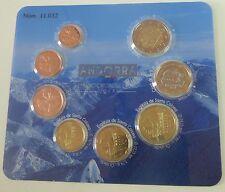 Andorra off. euro-kms 2014 bu/sello brillo, 1 Cent - 2 €, entrega inmediata