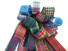 70mm Tartan Ribbon Bundle 6 X 1Mtr Berisfords