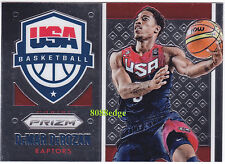 2015-16 PANINI PRIZM USA BASKETBALL: DeMAR DeROZAN #18 FIBA WORLD CHAMPION GOLD