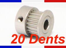 poulie GT2 - 20 dents - trou 5mm - largeur 6mm - imprimante 3D Reprap pulley