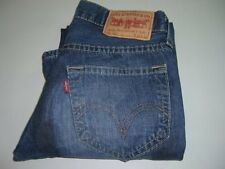 Mens LEVI'S STRAUSS & CO. 907 Blue Twisted Bootcut Denim Jeans W30 L32