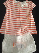 Gymboree Baby Girl Outfit 18-24m Shorts And Swing Top NWT Free Shipping