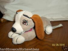 "Disney 8"" LADY Dog Puppy Lady and the Tramp Bean Bag Plush"