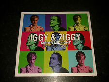 IGGY POP AND ZIGGY SISTER MIDNIGHT - LIVE AT THE AGORA CD 2011 NEW SEALED