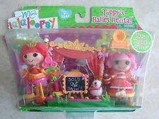 2 Doll Set Tippys Ballet Recital Bonus Pepper Pots n Pans Lalaloopsy Mini Dolls