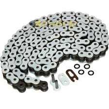 520 x 120 Links Motorcycle ATV WHITE O-Ring Drive Chain 520-Pitch 120-Links