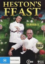 Heston's Feast - Series 2 - Brand New - Region 4