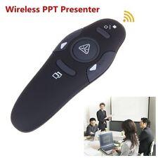 Wireless PPT Presenter PowerPoint Remote Control Presentation Laser Pointer Pen