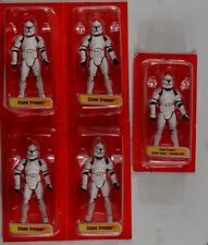 Kenner Hasbro Episode 1 super poseable Clone Trooper Lot of 5 Army Builder