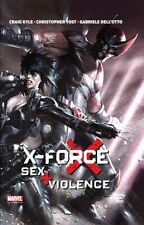X-Force: sexo + violencia (alemán) Marvel Graphic Novel #15 Dell 'Otto Wolverine