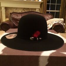 "Resistol 4 X Bison Collection ""David's Spotte "" Western Hat Size 7 5/8 !"