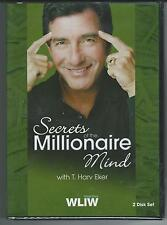 SECRETS OF THE MILLIONAIRE MIND -T. Hav Eker Brand New 16CD SET w/Free Shipping