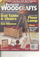 Weekend Woodcrafts - June 2004 Floor Lamp Doll Table & Chairs Magazine Rack Game