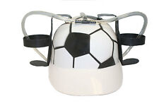 SOCCER BALL DRINKING HAT ,  FOR ADULTS & KIDS .. NEW