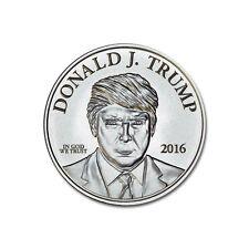 MAKE AMERICA GREAT AGAIN DONALD TRUMP 1 OZ SILVER COIN 999 FINE TROY EAGLE PR MS