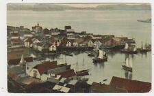 Hammerfest,Norway,View of Town & Harbor,Finnmark County,c.1909