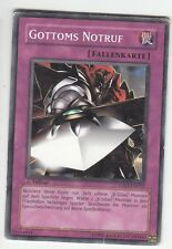 YU-GI-OH PLAYED Gottoms Notruf Common