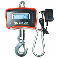 Heavy Duty 500 KG-1100 LBS Digital Crane Scale Industrial Hanging Scale with AC