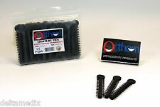 Dental Elastic Orthodontic Ligature Ties Bands Black Pack /1040 Pcs ORTHOM USA