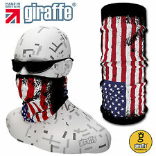 G316 USA Balaclava Bandana Face Mask Neck Tube Scarf Snood Warmer headgear