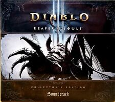 DIABLO 3 REAPER OF SOULS COLLECTOR'S EDITION colonna sonora Blizzard new worldwide