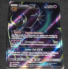 Lunala GX 141/149 SM Sun & Moon Base FULL ART NEAR MINT Pokemon Card