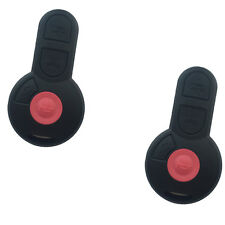 2Pcs 4 Buttons Remote Key Case Shell for Volkswagen  Beetle Golf Jetta Passat