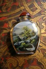 Vintage Chinese Inside Painted Snuff Bottle Landscape