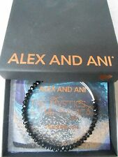 Alex and Ani Briliance Bead ECLIPSE Expandable Bracelet Shiny Silver NWTBC