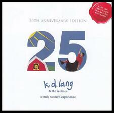 K.D. LANG & THE RECLINES (CD/DVD) TRULY WESTERN EXPERIENCE : 25TH ANN ED *NEW*