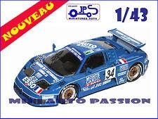 Kit JPS - Bugatti EB110  - 24 Heures du Mans  1994 - Prépeint - ref : KP394
