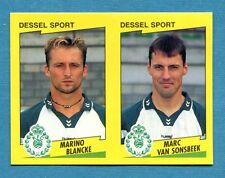FOOTBALL 98 BELGIO Panini-Figurina -Sticker n. 401 - DESSEL SPORT -New