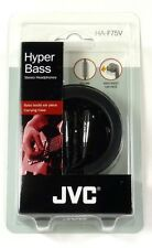 HAF75V JVC Earbuds/Earphones with In-line Volume Control and Carrying Case