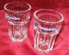 1 - Lot of 2 - Hoegaarden Brewery Sampler Beer glasses (2014-067)