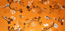 "NEW - IKEA Gunilla Fabric - (59"" x 1.0 yd) - 100% Cotton - Bird Pattern"