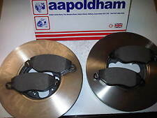FORD TRANSIT MK6 2.0TDCI FWD 2x NEW VENTED 276MM FRONT BRAKE DISCS & PADS 00-06