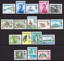 Dominica 1963-65 Set to $4.80 (Mint)