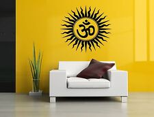 Wall Room Decor Art Vinyl Sticker Mural Decal Om Symbol Mandala Ornament SA173