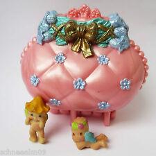 Vintage Fairy Winkles Treasure Purse - rosa Koffer Kenner Toys 2 Babys