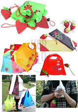 10pcs Strawberry Foldable Shopping Tote Eco Reusable Recycle Bag FGF-6756