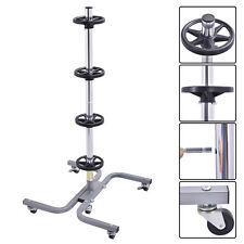 Tire Wheel Rack Storage Holder Heavy Duty Garage Trolley  275Lb