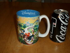 DISNEYLAND RESORT - 3-D GRAPHIC IMAGES OF PARK, JUMBO SIZED, Ceramic Coffee Mug