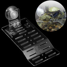 Acrylic Turtle Pier Dock Basking Platform Shelf Ramp Aquarium Fish Tank Decor